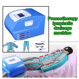 Vacuum lymphatic machine online shopping - New professional Pressotherapy Air pressure whole body detox slimming lymphatic drainage massage body shaping vacuum machine