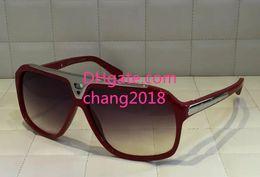 Shiny aluminum online shopping - luxury men brand designer sunglasses top AAA quality millionaire evidence sunglasses retro vintage shiny gold summer style