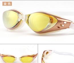Nova Ajustável À Prova D 'Água Anti Nevoeiro Proteção UV Adultos Profissionais Lentes Coloridas Óculos de Mergulho Óculos de Natação Óculos de Natação venda por atacado