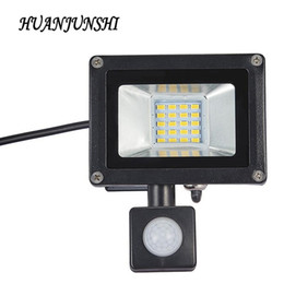 $enCountryForm.capitalKeyWord NZ - 10W 20W LED Flood Light Searchlight With Pir Motion Sensor 220v Floodlight Waterproof Outdoor Lighting Factory Price