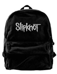 $enCountryForm.capitalKeyWord UK - Slipknot Loo Canvas Shoulder Backpack Best Backpack For Men & Women Teens College Travel Daypack Black