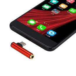 $enCountryForm.capitalKeyWord NZ - New Multifunctional USB Type C 3.5mm Audio Headphone Jack Type-c 2 in 1 Adapter Jack for type-c Mobile Audio Data Line Headphone Jack
