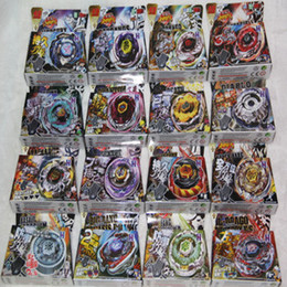 beyblade shipping 2019 - Best Birthday Gift Free Shipping Beyblade Metal Fusion Metal beyblade set as children gifts 16 Different 4D beyblade wit