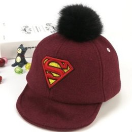 96283460948 HATGUD TYLZT New Cartoon Superman S Letters Children Baseball Hats Fashion  Outdoor Boy Girl Peaked Cap Fit For 1-3 Years Old Kid new superman hat for  sale