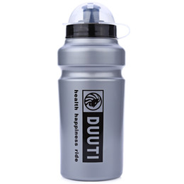 Water Bottle Wholesale For Sports UK - 500ml DUUTI Practical Applicable Kettle Sports Water Bottle for Outdoor Mountain Bike Riding drink water bottle