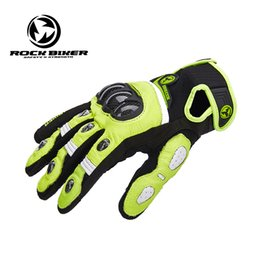 rock leather gloves Australia - Rock Biker Motocycle gloves women Moto gloves XXL leather guantes para moto mujer Touch Screen Motocross off road gloves