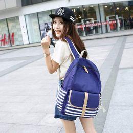 $enCountryForm.capitalKeyWord Australia - Women Fashion Casual Backpack Lightweight Canvas Daykpack Cute Rucksack Laptop Shoulder School Bag for Teen Girls Boys Wholesale