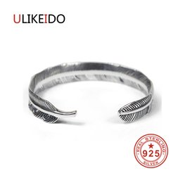 Discount hand beads for men - 100% Pure 925 Sterling Silver Bangles Men Fashion Punk Hand Chain For Women Thai Silver Jewelry Charm Bracelet Homme 137