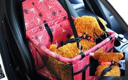 house cars 2019 - Pet Dog Carrier Car Seat Pad Safe Carry House Cat Puppy Bag Car Travel Accessories Waterproof Dog Car Seat Bag Basket Pe