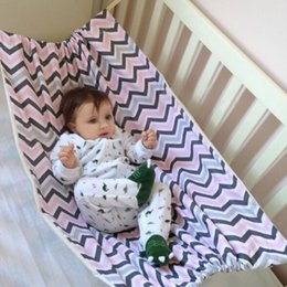 Discount safe baby bedding - Portable Baby Hammock Newborn Infant Bed Elastic Detachable Crib Safe Baby Hammock Portable Outdoor Hanging Seat Garden
