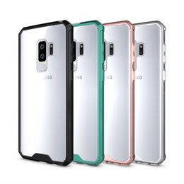 $enCountryForm.capitalKeyWord NZ - Transparent Air Hybrid Case for Samsung Galaxy S9 Plus Color Bumper Clear Four Balloon Drop Shockproof Back Cover