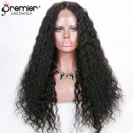 New wave loNg hair online shopping - 8a Full Lace Human Hair Wigs Brazilian Virgin Human Hair Deep Body Wave New Design Wig Cap Density Affordable Wigs