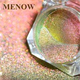 Menow espelho unha polonês chapeamento glitter pigmento pasta de ouro cor de metal gel de aço inoxidável diy p # bb