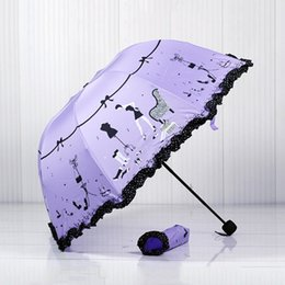 HigH Heels long online shopping - High heels Brand Princess brand new arched creative folding umbrella sun umbrella lace parasol umbrella rain women guarda chuva