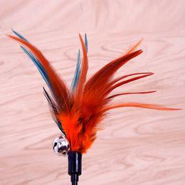Vente en gros Chat drôle jouets chat teaser dinde plumes chat grattant jouets plumes jouet nourriture ballon pour chats gratter jeu formation