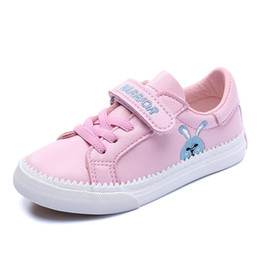 $enCountryForm.capitalKeyWord UK - Girls Shoes Casual Kids Sneakers Tenis Infantil Childrens Shoes Girls Canvas Shoes Cute Cartoon Rabbit Baby Flats Leather