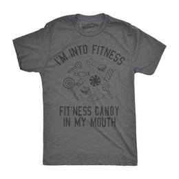 $enCountryForm.capitalKeyWord NZ - Details zu Mens Fitness Candy In My Mouth Tshirt Funny Sarcastic Workout Tee For Guys Casual Funny free shipping Unisex tee gift
