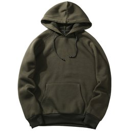edfc4fbdd35f Man 8 color cotton hoodie Lapel Loose coat Pure color Pullover motion  Leisure time fashion Trend Sweater New style