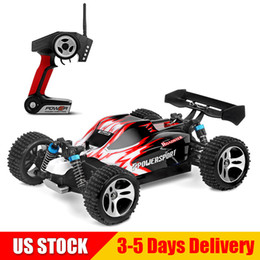HigH electric sHock online shopping - WLtoys RC Cars WD KMH High Speed Racing Car RTR G Radio Control Off Road Monster A959 Red US STOCK