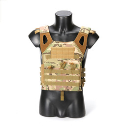 TacTical gear vesTs online shopping - 1000 D High Quality Nylon VT390 The Seal Lightweight Tactical Vest JPC Quick Release Outdoor CS Field Protection Combat Gear Plate Carrier