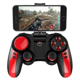 Games Wireless Controllers Australia - iPEGA PG-9089 Bluetooth Wireless Gamepad Game Controller for iOS   Android Phone   PC with Smartphone Holder PG 9089 BT Game Pad