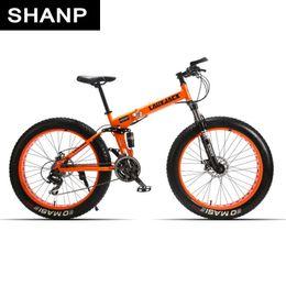 "$enCountryForm.capitalKeyWord NZ - wholesale mining double-layer bicycle steel folding frame 24 speeds shimano mechanical disc wheel disc brakes 26 ""x4.0 fat bike"