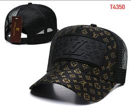 Venta al por mayor de Diseñador de la marca de lujo Europa América gorra HAT bordado hombres de la cara strapback visera gorras hueso bola gorra de golf 21