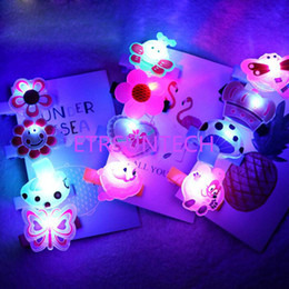 $enCountryForm.capitalKeyWord Australia - Luminous Halloween Headdress Cartoon Led Clip Hair Headwear LED Glow Hairpins Party Decoration Free Shipping QW7781