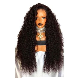 China Cheap Curly Synthetic Lace Front Wigs For Black Women 180 Density Glueless Heat Resistant Har Wig With Baby Hair cheap cheap laced wigs suppliers