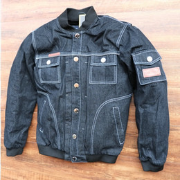$enCountryForm.capitalKeyWord NZ - Breathable racing jackets motorcycle off-road jackets knight jackets Windproof motorcycle clothing Denim jacket have protection