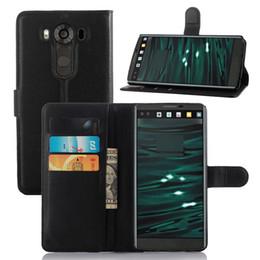 Phone Holder Lg G4 Australia - Phone Case For LG G4 Stylus V10 Leather TPU Full Cover Wallet Housing Casing Bag Holder Stand
