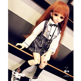 uniforms for girls 2019 - BJD   SD doll clothes   baby clothes ladies uniforms suit, skirt pants for 1 6 1 4 1 3 Bjd Doll discount uniforms for gi
