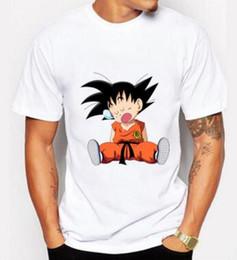 2540f7697dc6 Dragon Ball Z Clothes Canada - 2018 Men's Clothes Fashion Japan Anime Dragon  Ball Z T Shirt
