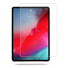 "Ipad Transparent Screen Australia - New arrival for Apple Ipad Pro 11"" and 12.9''transparent tempered Glass Screen Protector with arc edge and free shipping"