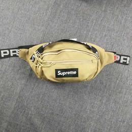 18SS Bolso de cintura 3M 44º Sup Unisex Fanny Pack Lienzo de moda Bolso de cinturón de hip-hop Bolsos de mensajero de los hombres 17AW Pequeño bolso bandolera 4 colores en venta