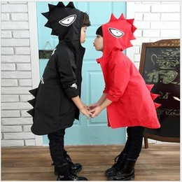 $enCountryForm.capitalKeyWord Australia - 2017 Spring Autumn Boys Coat Dinosaur Jacket Kids Hoodies Children Winter Jacket Red Cardigan Girl Outerwear Kids Long Dust Coat