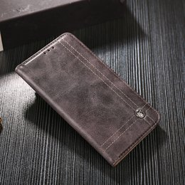 for OPPO R17 Pro Case without Magnetic Card Slot Wallet Luxury Retro Leather  Flip Phone Protective Cover for OPPO R17 Pro Funda 2a82d2319a70