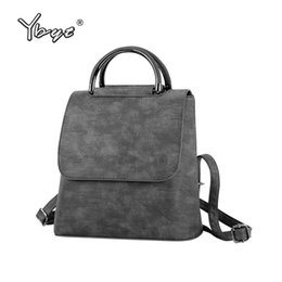 $enCountryForm.capitalKeyWord Canada - YBYT brand 2018 new PU leather women rucksack Multipurpose satchel female shopping shoulder bags ladies casual travel backpacks
