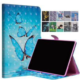White Rose Pattern Australia - 3D Patterned Stand Flip Case Leather Cover For Amazon Fire7 (2017) Leather Casing For Amazon Fire 7 2017 Tablet Cases