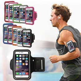 Wholesale Sport Running Mobile phone armband for iPhone X Xs plus Samsung S8 Huawei P20 arm band