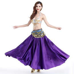 sexy indian woman costumes 2018 - Sexy Belly Dance Suit For Ladies Blue Red Black Color Skirt Set S-L Size Suit Professional Indian Party Ballroom Costume