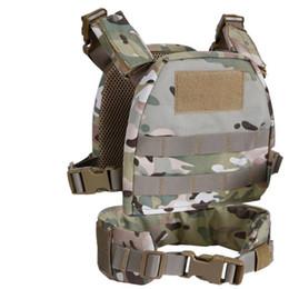 tactical vest green 2019 - Good Children\'s Tactical Vest Suit Army Fan Outdoor Equipment Children\\\'s Vest Waist Children\'s Mini