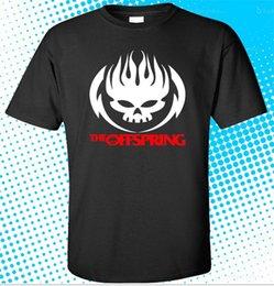 $enCountryForm.capitalKeyWord NZ - New The Offspring Skull Logo Rock Band Mens Black T-shirt Size S - 3xl Cheap Sale 100 % Cotton T Shirts For Boys The New