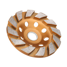 China 100mm Diamond Grinding Wheel Concrete Cup Wheel Disc for Concrete Granit Stone Grinding suppliers