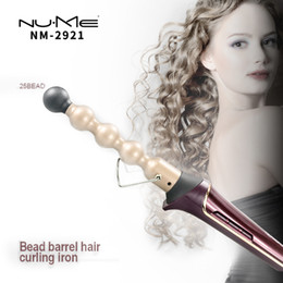 $enCountryForm.capitalKeyWord Canada - New Hair Styling Tools Digital LCD Hair Curler Rollers Gourd Tube Hair Curling Iron Ceramic Curling Wand Set