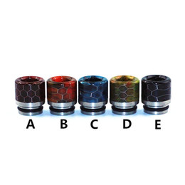 New Vape Pipes UK - hot vape mouthpiece ecig wide bore drip tip for vapor tank pipes shipping free dhgate new