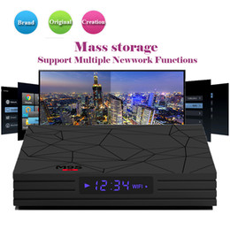 cheap android player NZ - Cheap M9S Y2 Android 8.1 tv box RK3328 4GB 32GB Wifi Bluetooth 4K VP9 H.265 HDR10 streaming media player Better A5X MAX S8 MAX T9