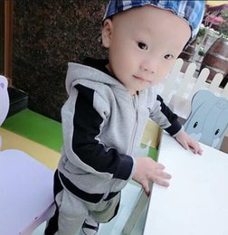 Branded Baby Kids Clothes Australia - 2018 Ar baby boys & girls tracksuits kids brand tracksuits kids coats pants 2 pcs sets kids clothing hot sale new fashion spring autumn.