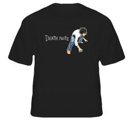 Green Machine Sale UK - Shirt Sale Death Note Japanese Short Sleeve Printing Machine O-Neck T Shirts For Men