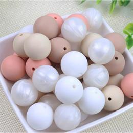 $enCountryForm.capitalKeyWord NZ - TYRY.HU Silicone Beads 10Pc Grade Silicone 12 15MM Nursing Teething Bead In Baby Teethers Necklace DIY
